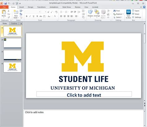 powerpoint tutorial for students student life powerpoint presentation templates student