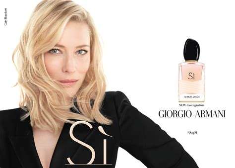 Armani Si si signature giorgio armani perfume a new fragrance