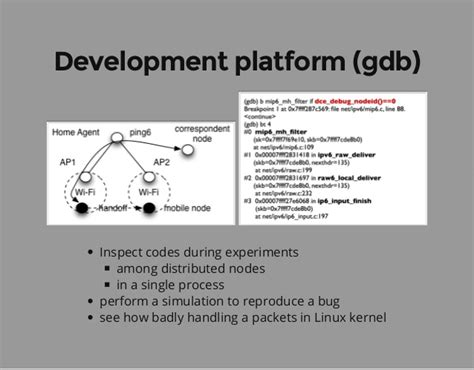 gdb tutorial ns3 ns 3 direct code execution dce tutorial wns3 2015