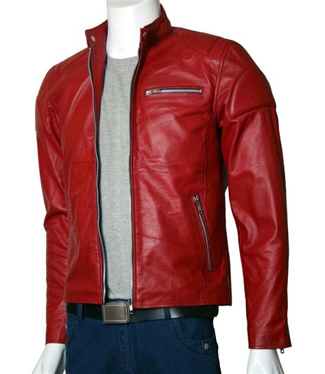 red leather motorcycle jacket mens dark red leather biker jacket cairoamani com
