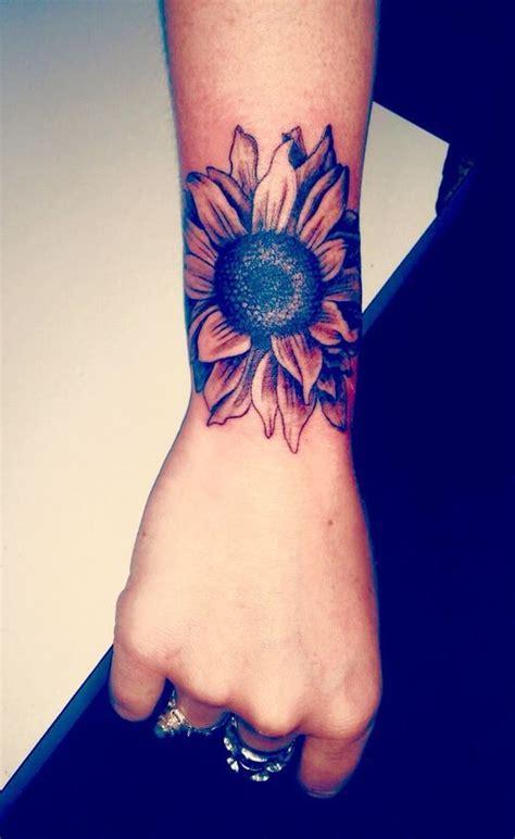 sunflower tattoo wrist 15 awesome tattoos for tattoos