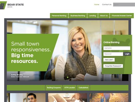 banking best the definitive list of the best bank website designs