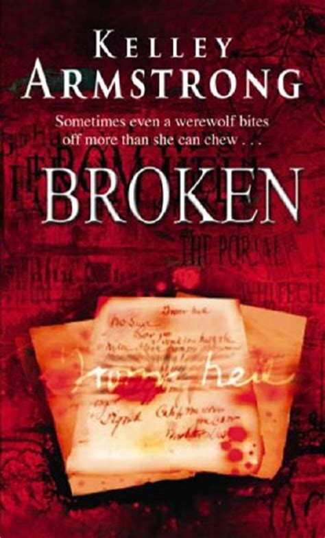 the broken a books guest book review broken by kelley armstrong s
