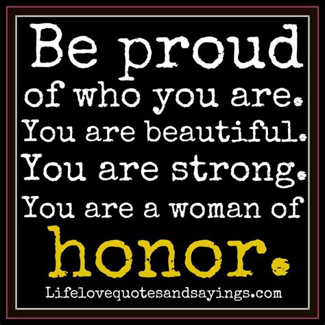 Proud Of Quotes