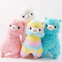 Read description kawaii large rainbow arpakasso alpacasso alpaca