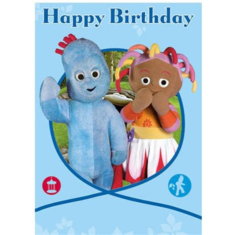 Happy Birthday Cards Characters In The Night Garden Happy Birthday Card Ng044