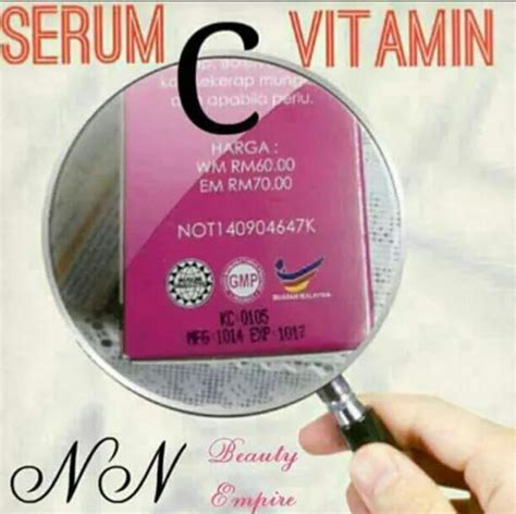 Serum Vitamin C Nn friday beautiez kollections serum vitamin c by nn