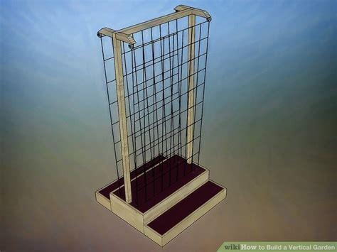 3 ways to build a vertical garden wikihow