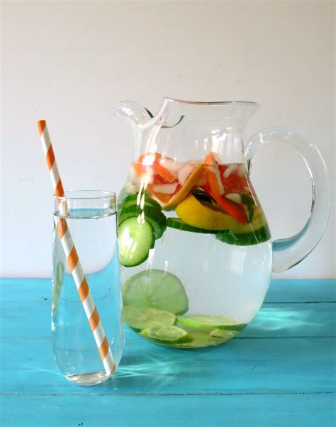 Flush And Detox Water Cucumber by 7 Refreshing Detox Water Recipes Yuri Elkaim