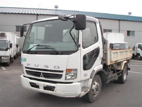 mitsubishi fuso dump truck mitsubishi fuso fighter dump truck 2006 used for sale