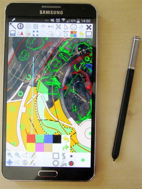 sketchbook galaxy note 3 openorienteering open source orienteering software