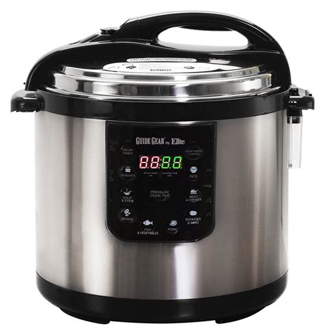 Elite Cooker elite platinum 10 quart pressure cooker multi epc 1013