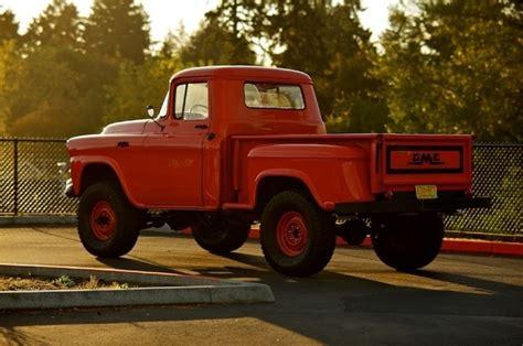 4x4 gmc trucks 58 gmc 4x4 sweet school trucks 4x4