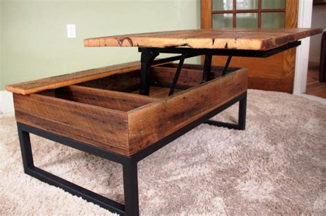 diy coffee table with lift top coffee table with