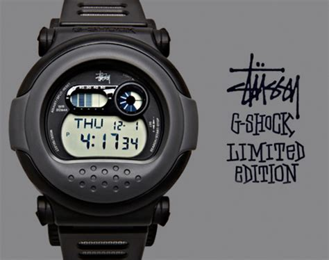 Gshock X Stussy stussy x casio g shock g 001 quot jason quot available now