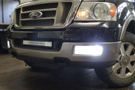 2005 f150 light bar how to install f150 04 08 cree led fog lights f150leds com