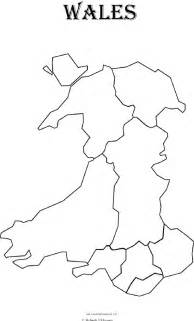 Blank Map Of England And Wales by Free Coloring Pages Of Map Of Wales