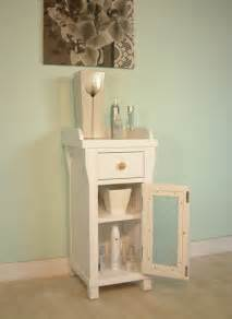 design ideas small white bathroom vanities:  new england style white painted furniture small glass bathroom cabinet