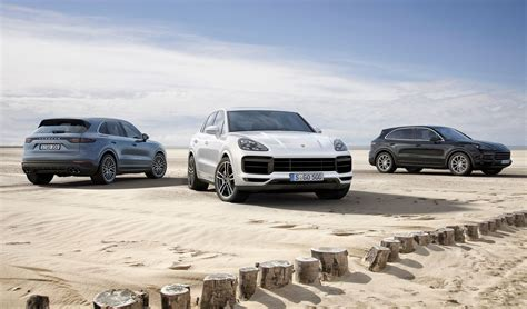 new porsche 2018 new porsche cayenne turbo unveiled for 2018 by car magazine