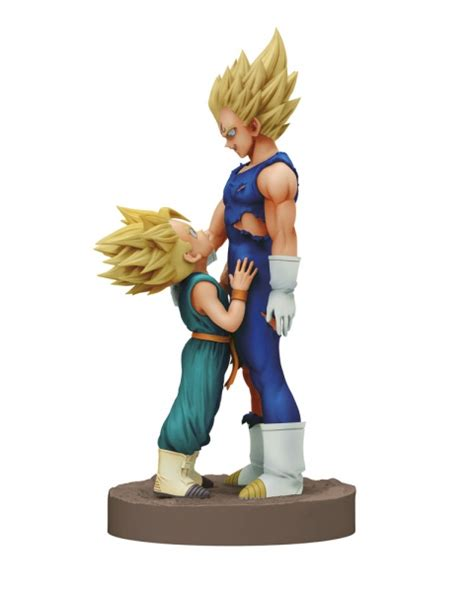 Banpresto Dramatic Showcase Z Dsc Majin Vegeta Trunks Set z figurine dramatic showcase majin vegeta