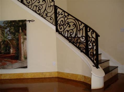 Wrought Iron Stair Railing Interior by Rod Iron Stair Rails The Best Inspiration For Interiors