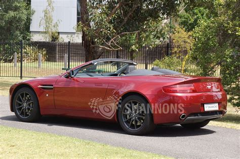 Aston Martin Vantage Convertible For Sale by Sold Aston Martin V8 Vantage Convertible Auctions Lot