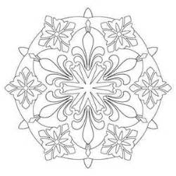 Kaleidoscope Coloring Pages  Pinterest sketch template
