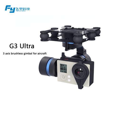 Feiyutech Fy G3 Ultra 3 Axis Gimbal Brushless Aircraft Aerial Photogra aliexpress buy fy g3 ultra 3 axis brushless gimbal for aircraft for gopro 3 3 gropro
