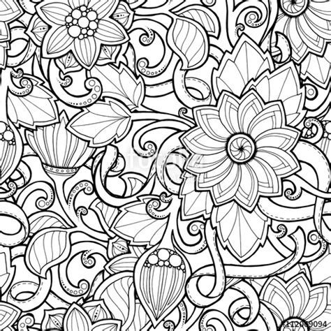 doodle seamless background  vector  doodles