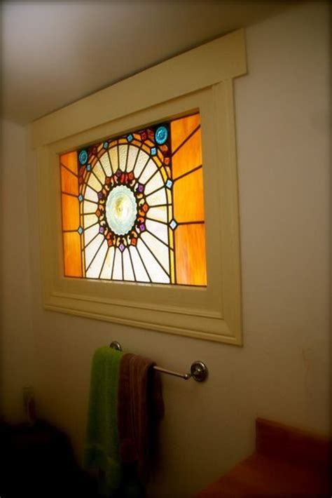 stained glass for bathroom window stained glass window since day 1 i have wanted a