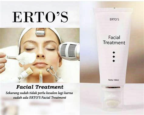 Pemutih Ertos ertos treatment krim pemutih wajah harga testinmoni