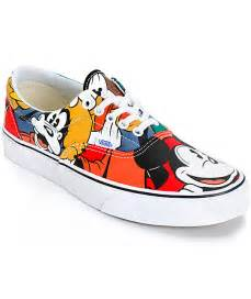 vans disney shoes disney x vans era mickey friends skate shoes mens at