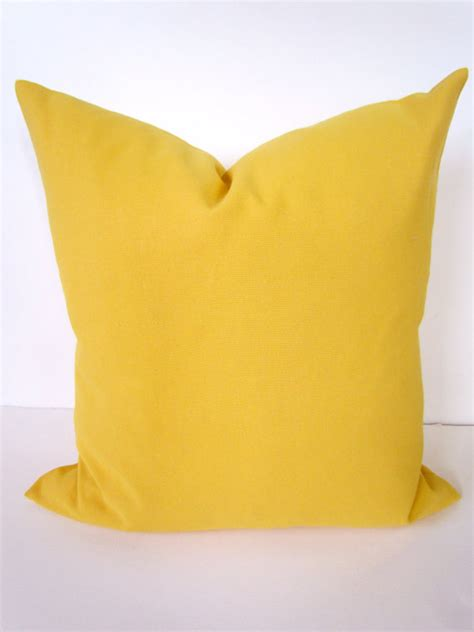 20x20 Pillows by Pillows Yellow 20x20 Decorative Throw Pillows By