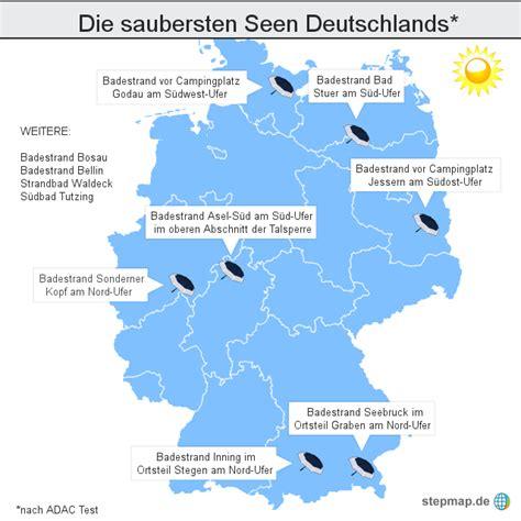 Deutsches Büro Grüne Karte Formular by Die Saubersten Seen Deutschlands Wznewsline