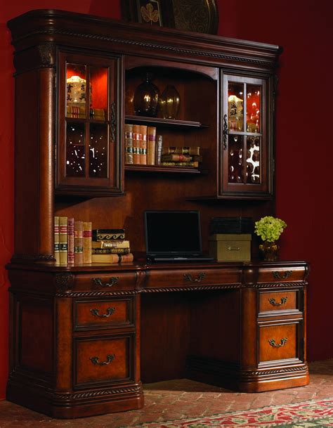 office credenza the cheshire home office credenza desk with hutch