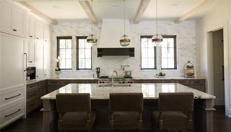 white and brown kitchen cabinets white and brown kitchen with brown granite