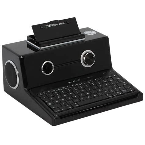 Speaker Keyboard bluetooth wireless keyboard with stereo speaker for 1 2 3 blcak d102 2 1 ebay