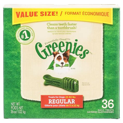 dental chews greenies greenies dental chews for dogs made in the usa treats