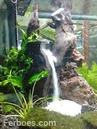 pirdot contoh desain air terjun aquscape waterfall