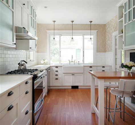 Roll Up Kitchen Cabinet Doors by Modern Farmhouse Style A Little Bit Country A Little