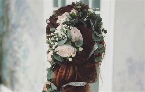 fiori x sposa acconciature sposa con fiori tra i capelli 11 idee per la