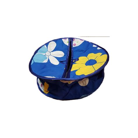 Box Roti Traditional Roti Box Bread Cover Blue And Yellow Get