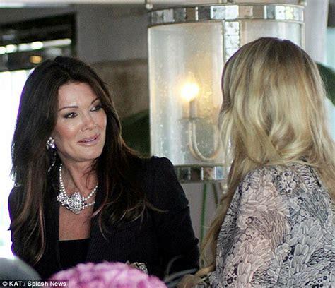brandy from beverly hills housewives pink lipstick lisa vanderpump begins new season of the real housewives