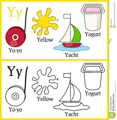 Objects That Start With The Letter Y