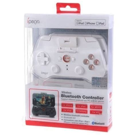 Gamepad Stick Wireless Bluetooth Ipega Pg 9017 Gaming Android Ios ipega mobile wireless gaming controller bluetooth 3 0 for apple and tablet pc pg 9017 white