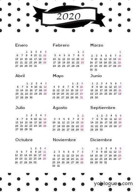 calendario  gratis en  imprimible en varios modelos en  folio