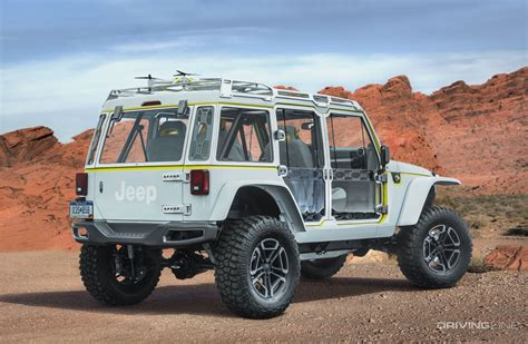 2017 jeep prototype unveiled 2017 jeep concept vehicles drivingline