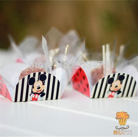 mickey mouse birthday party decorations kids party supplies cake wrappers chocolate box orminhas