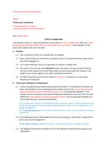 Letter Of Engagement Template For Bookkeeper by Letter Of Engagement Consulting Template Tokinoha Info