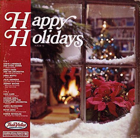 true  happy holidays volume  p christmas vinyl record lp albums  cd  mp
